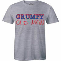 Mens Grumpy Old Tee - Old Man T Shirt for Men - Funny Gift Father's Day