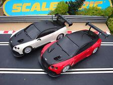 Paire utilisé carton Scalextric Bentley Cars-charges plus CARS FOR SALE