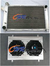 3row ALUMINUM RADIATOR&SHROUD&FANS for 1994-1995 FORD MUSTANG GT/GTS/SVT 3.8/5.0