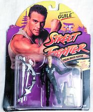 Capcom Street Fighter Movie NIGHTFIGHTER GUILE Action Figure 1994 Hasbro
