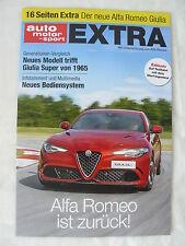Alfa Romeo Giulia - Extra - Sonderdruck AutoMotor&Sport 2016