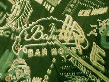 Stunning Tommy Bahama neon urban-tropical signs retro silk Hawaiian shirt LARGE