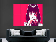PULP FICTION MIA WALLACE  GIANT WALL POSTER ART PICTURE PRINT LARGE HUGE