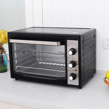 1800W Electric Toaster Oven Convection Broiler 40L Countertop with Drip Pan New