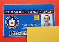 HOMELAND - SAUL BERENSON (MANDY PATINKIN) CERTIFIED SCREEN-USED PROP CIA ID CARD