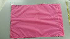 5 Beaters flags in bright PINK
