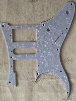 Lefthanded Guitar Pickguard For Ibanez RG 350 EX Style Scratch Plate,White Pearl