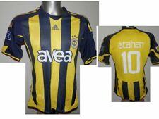 2009-10 Fenerbahce Atahan #10 Home Shirt Turkish Jersey Club size - S