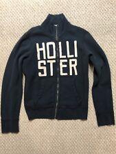 HOLLISTER Men'sNAVY Zip Up Jacket Size S