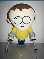 Rare South Park Talking Jimmy/Crutches Plush Toy Doll Figure By Fun 4 All