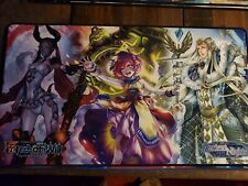 Lot of 6 different Force of Will Playmats unused play mats Open but BRAND NEW!!