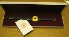 1998 US OPEN The Olympic Club 23K Gold Plated Face LADIES WATCH New! In Box!!