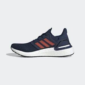 Adidas Ultraboost 20 Collegiate Navy Running Training Men's Size US 12 RRP $260