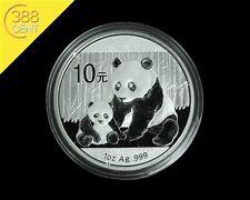 China 10 Yuan Panda 1 Unze oz Silber 2012