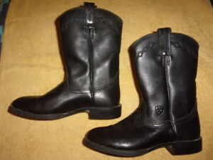 Ariat ATS BLACK Boots WOMEN'S SIZE: 7 B