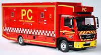 MAN TGL FIRE ENGINE MODEL TRUCK 1:43 SCALE IXO POSTE DE COMMANDEMENT FRANCE