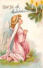 God Jul, Merry Christmas, Angel Cherub, Pray, Candles, Tree
