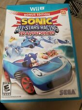 Sonic & All-Stars Racing Transformed Nintendo Wii U 2012 Video Game