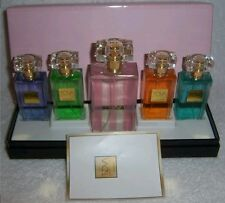 TOVA 5 FRAGRANCE ANNIVERSARY SET SIGNATURE JASMINE BERGAMENT NEW IN BOX