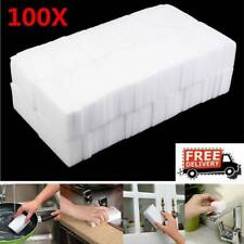 100PCS Magic Cleaning Sponge Eraser Cleaner Home Multi Functional Easy Cleaning
