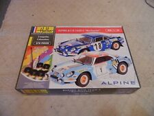 Auto Vintage - collection - Alpine A 110 - 1/24 - Neuf Heller