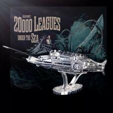 Metal Model Kit 3D Puzzle - Captain Nemo's - The Nautilus Submarine