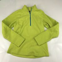 Eddie Bauer Womens 1/4 Zip Fleece Jacket Size Small D211