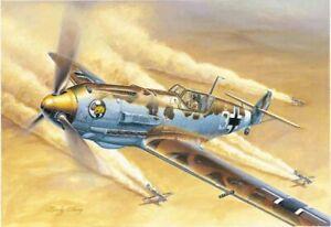 Messerschmitt Bf 109e-4 Trop Aircraft 1:3 2 Plastic Model Kit 02290 Trumpeter