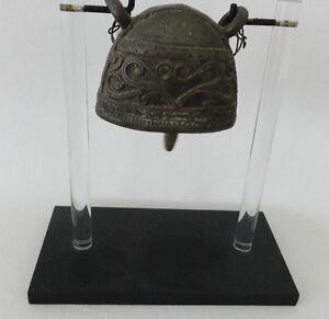 Antique Bronze Buffalo Bell,  Burma