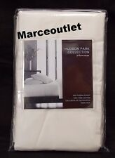 Hudson Park Collection 500 Thread Count Iron Free STANDARD Pillowcases White