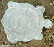 abs plastic turtle / plaque stepping stone plaster concrete mold