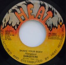GANGSTERS ~ RARE BOOGIE FUNK 45 on HEAT ~ RARE CHICAGO ~ HEAR IT!