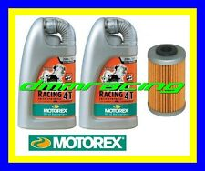 Kit Tagliando KTM 690 LC4 Rally Factory 09>10 Filtro Olio MOTOREX Racing 20W/60