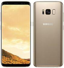 "Samsung Galaxy S8 SM-G950F Maple Gold (FACTORY UNLOCKED) 5.8"" 64GB 4GB RAM"