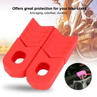 1 Pair Crank Protector Sleeve Arm Boot Crankset Protective for MTB Bicycle Bike