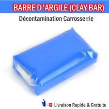 BARRE D'ARGILE / CLAY BAR DECONTAMINATION LAVAGE CARRROSSERIE PROPRE LUSTRAGE