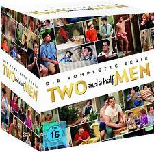 TWO AND A HALF MEN, Die komplette Serie (Staffel 1-12) 40 DVDs NEU+OVP