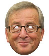 Jean Claude Juncker 2D Card Party Face Mask Brexit