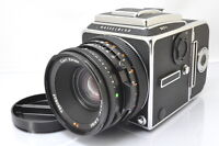 [EXCELLENT]Hasselblad 503CX Body + CF 80mm F/2.8 Lens + A12 Film back From Japan