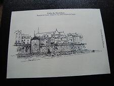 FRANCE - document (gravure) (golfe du morbihan) (cy52) french (A)