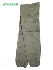 Pantalon de treillis F2 kaki de l'armée française NEUF en taille 80M (soit 40)
