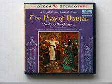 New York Pro Musica, The Play Of Daniel , 7½ ips reel-to-reel tape, Opera