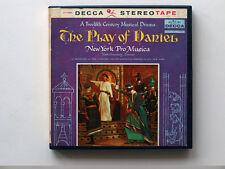 New York Pro Musica, The Play Of Daniel , 7½ ips reel-to-reel tape, Opera