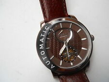 Fossil Automatic men's leather Dress watch.mechanical & automatic watch.Me-3001