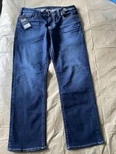silver jeans company  Grayson Straight Leg Easy Fit Jeans Size W34 L30 MSRP $99