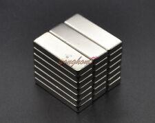 10pcs N50 Strong Block Cuboid Bar Magnets 30mm x 10mm x 4mm Rare Earth Neodymium