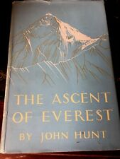 The Ascent of Everest by John Hunt 1953