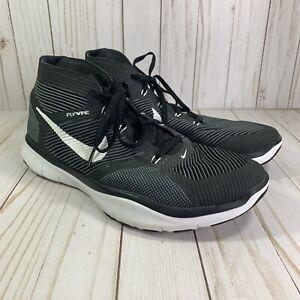 Nike Free Train Instinct Men Sneakers 833274-010 Black Mid Top Size 9 Athletic