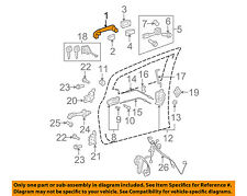 TOYOTA OEM-Outside Exterior Door Handle 6921112220P0