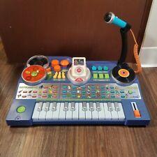 Vtech Kidijamz Studio Blue Keyboard DJ Recording Studio Interactive Learning Toy